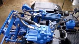 Минитрактор 4х4 - гидравлика