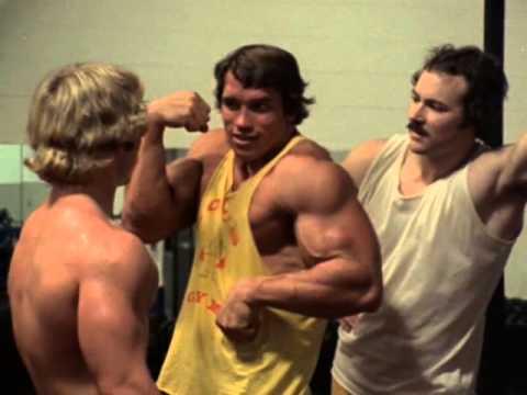Pumping Iron, 1977, Arnold Schwartzenegger show them