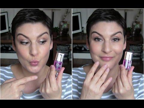 beaute Le Dior Nail Glow en live maquillage