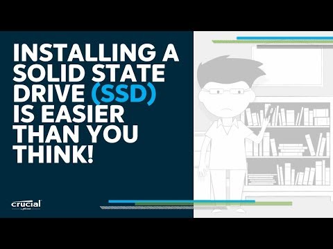 Installing an SSD is easier than you think