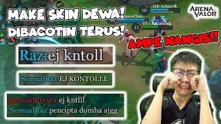 Video MAKE SKIN DEWA BUTTERFLY! DIBACOTIN PARAH AMPE NANGIS! - AOV Indonesia MP3, 3GP, MP4, WEBM, AVI, FLV Oktober 2018