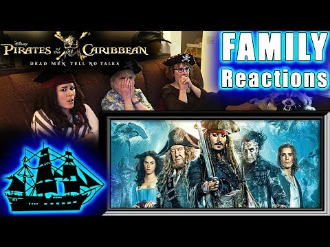 Pirates Of The Caribbean 5 | Dead Men Tell No Tales | FAMILY Reactions | Fair Use