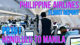 Video PHILIPPINE AIRLINES FLIGHT REVIEW   HONOLULU TO MANILA   PR101   ECONOMY CLASS MP3, 3GP, MP4, WEBM, AVI, FLV Mei 2019