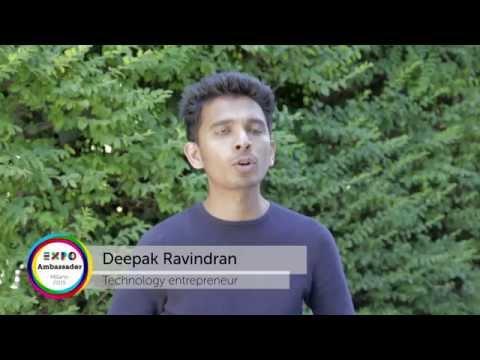 Ambassador Deepak Ravindran Expo Milano 2015