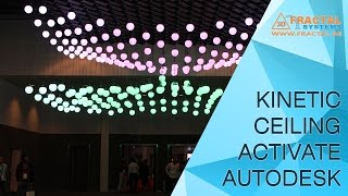Kinetic Ceiling - Autodesk University (AUME2016)
