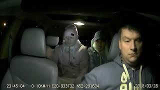 Napad na taksówkarza…
