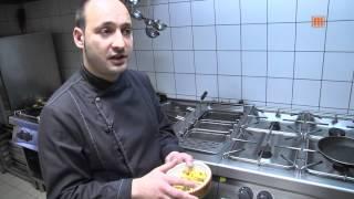 Rosmarinkartoffeln und gebratene Pfifferlinge
