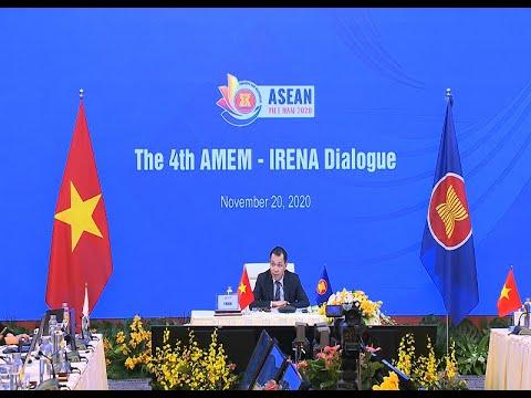 Khai mạc Hội nghị đối thoại AMEM – IRENA