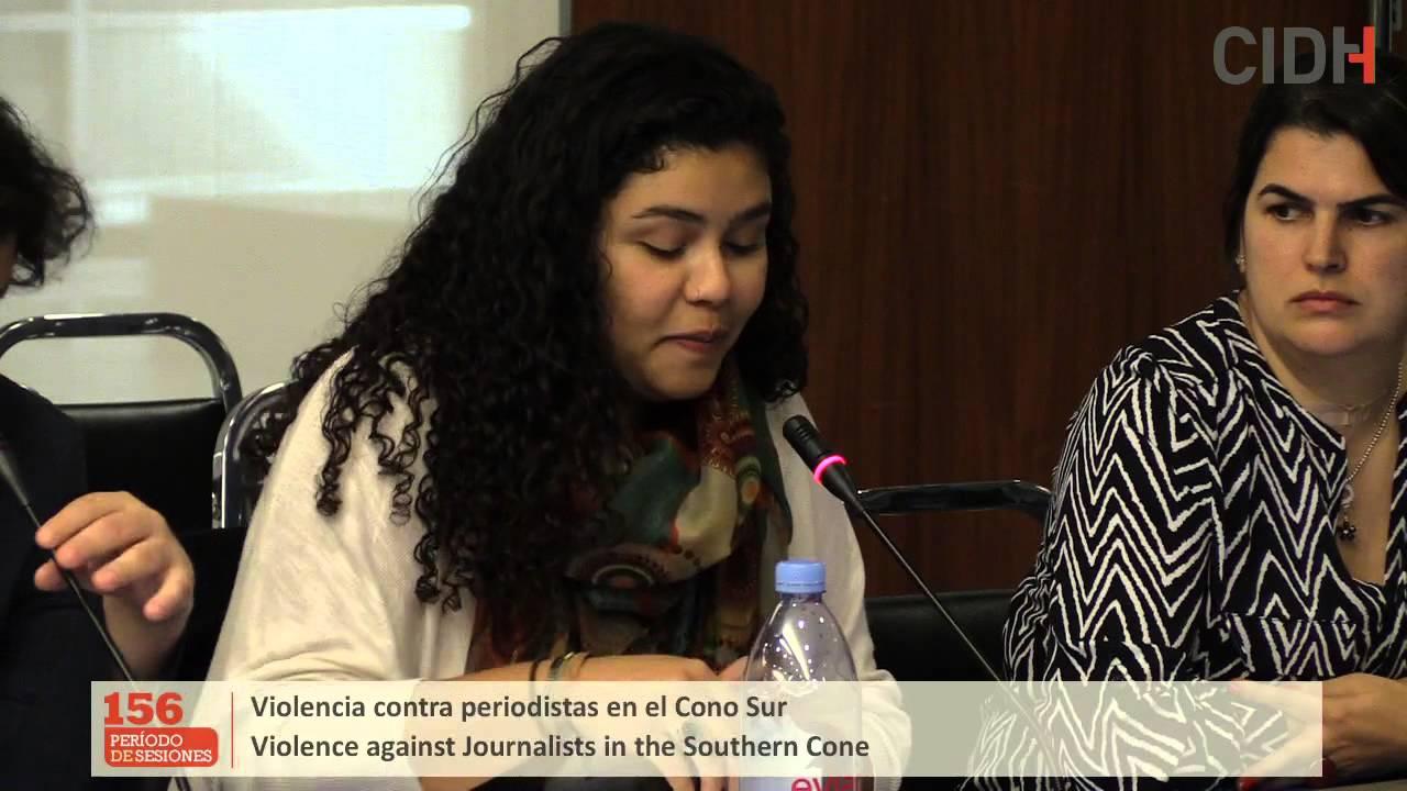 RSituación de violencia contra periodistas en el Cono Sur