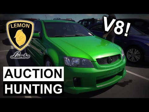 CHEAP ONLINE AUSTRALIAN CAR AUCTION INSPECTIONS | Lemon 2 Lambo - Episode #8