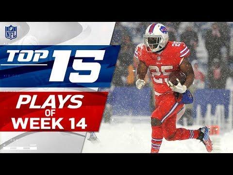 Top 15 Plays of Week 14 | NFL Highlights