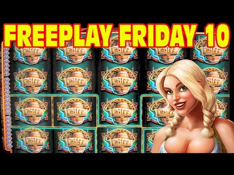 Bier Haus Slot Machine BONUS & LIVE PLAY WIN Freeplay Friday Episode 10
