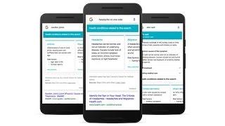 "Google releases a smarter ""Symptom Search"""