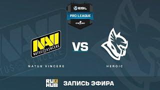 Na'Vi vs Heroic - ESL Pro League S6 EU - de_overpass [yXo, Enkanis]