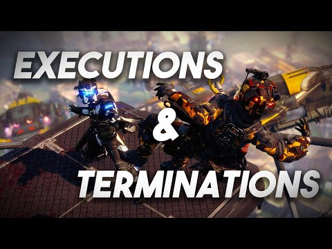 TITANFALL 2: ALL 29 EXECUTIONS & TERMINATIONS In 4K! (XBOX ONE X & PC)