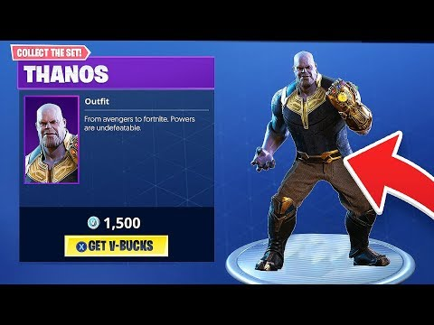 New Thanos Avengers Skin And Gauntlet Coming To Fortnite Battle