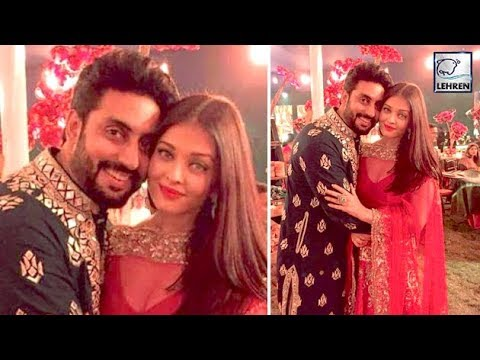 Abhishek Bachchan and Aishwarya Rai Look Picture P