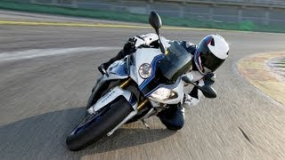 4. 2013 BMW HP4 tech overview with race pro, Nate Kern. Traction control, ABS, Launch control.