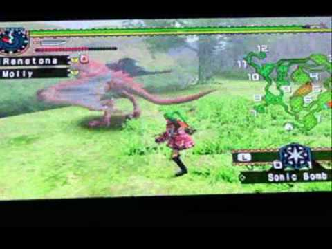 Monster Hunter X Phantasy Star bloopers and Absolute Nonsense