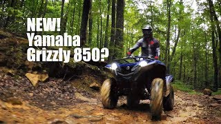 3. NEW Yamaha Grizzly 850?