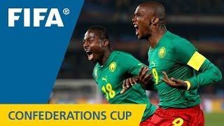 Samuel Eto'o und sein Traumtor gegen Brasilien