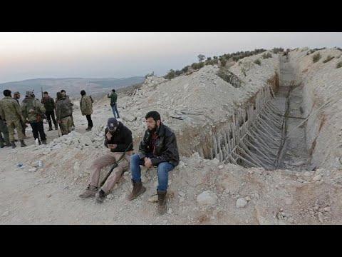 Άμαχοι παγιδευμένοι στα σύνορα Τουρκίας-Συρίας