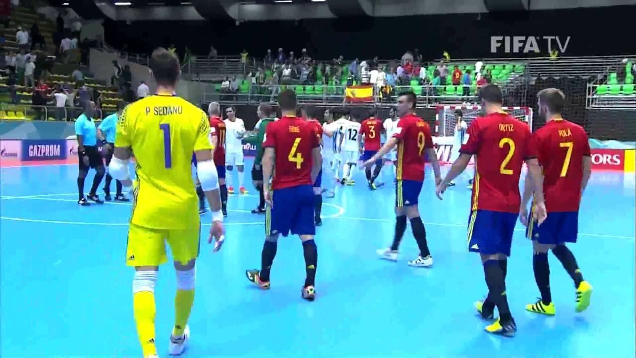 Match 11: Iran v Spain – FIFA Futsal World Cup 2016