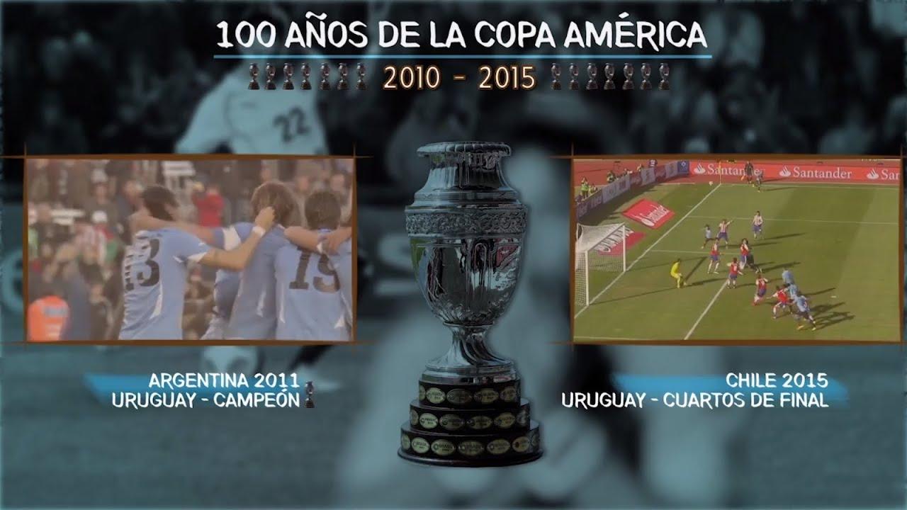 Uruguay en los 100 años de la Copa América