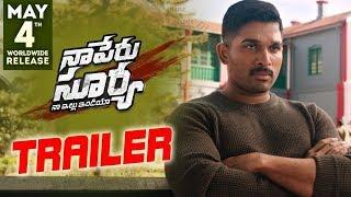 Naa Peru Surya Naa Illu India Theatrical Trailer    Allu Arjun  Anu Emmanuel  Vakkantham Vamsi