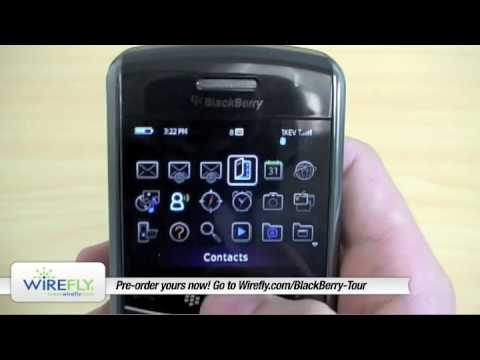 BlackBerry Tour 9630 Review -- Hands On