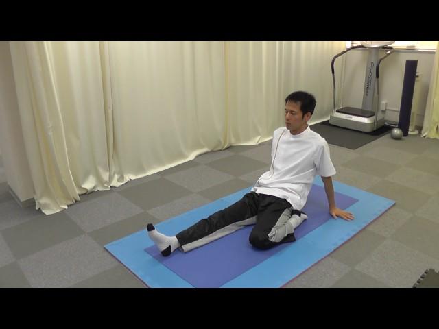 【セルフケア動画】便秘腰痛体操 大腿四頭筋をゆるめる