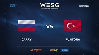 Carry vs Fujitora, game 1