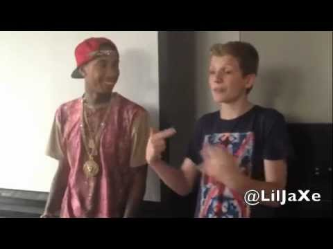 Lil JaXe Rapping For Tyga in Toronto [Video] (@LilJaxe, @Tyga)