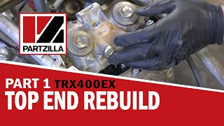 6. Honda 400EX Top End Rebuild Part 1: Disassemble | Partzilla.com