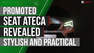 Promoted: SEAT Ateca revealed – an SUV that's stylish yet practical by Autocar