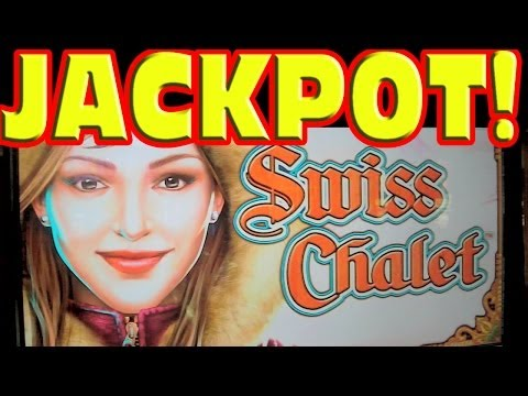 Swiss Chalet MASSIVE HAND PAY JACKPOT Slot Machine Mega Super Huge Giant Big Win