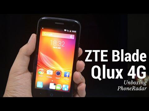 ZTE Blade Qlux 4G Unboxing & Hands-on - PhoneRadar