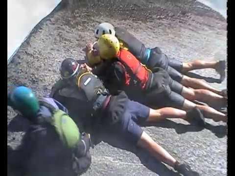 White water kayaking, Kiwi California trip