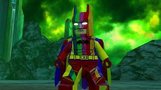 LEGO BATMAN 3 - Rainbow Batman FREE ROAM GAMEPLAY (Rainbow DLC)