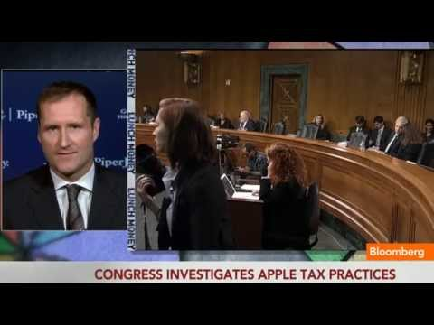 Gene Munster - May 21 (Bloomberg) -- Gene Munster, Managing Director at Piper Jaffray, discusses Apple's tax practices, the 'circus' of the Senate's Permanent Subcommittee ...