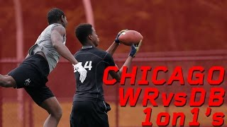 Chicago WR vs DB 1 on 1's | Nike Football's The Opening Regionals