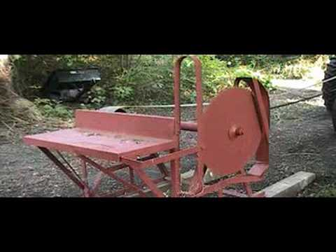 pto driven circular saw bench 2
