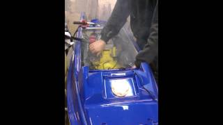 4. Engine start, 716cc Yamaha Superjet SN
