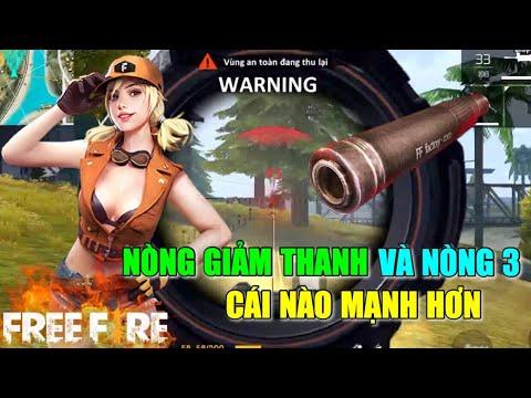 Nòng Giảm Thanh Và Nòng 3 Cái Nào Lợi Hơn | Garena Free Fire || Lão Gió - Thời lượng: 17:20.