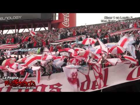 Video - River mi buen amigo + Salida del equipo - Los Borrachos del Tablón - River Plate - Argentina