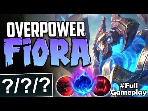 OVERPOWER FIORA TOP | TOO MUCH DAMAGE | Galio vs Fiora Top Lane | Season 8 Ranked Gameplay (видео)