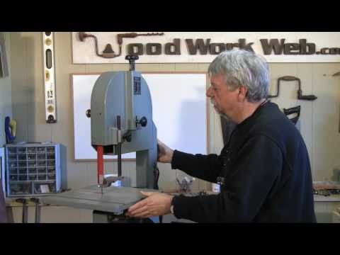 band saw - http://www.woodworkweb.com/woodwork-topics/woodworking-tools/336-band-saw-setup-and-tuning.html Setting up a band saw correctly is an important set in order ...