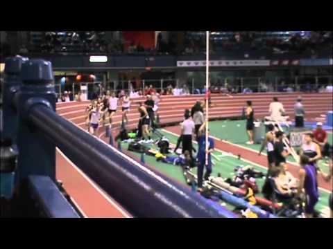 Northeastern University's Eric Jenkins Wins The Mile (4:02.74) At The Armory On Jan. 20, 2012