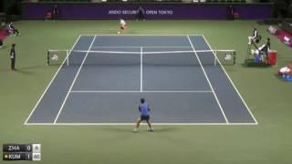Zhang Shuai v Kumkhum Luksika - 2016 ITF Tokyo