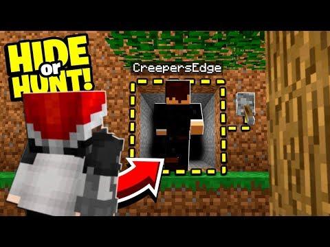 Minecraft enemies are stalking us! - Hide Or Hunt #2